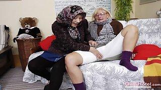 OmaHoteL Hottie Grandmas in Tempting Mature Videos