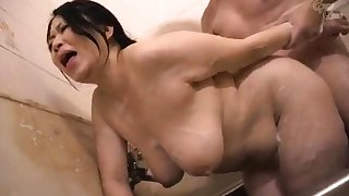Broad in the beam Jelena Gives the Titjob And has got laid Doggystyle