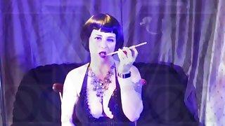 Dominatrix Hypnosis - cigarette trigger