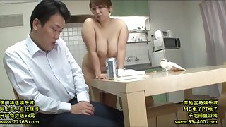 Lustful Nipponese mommy hardcore sexual connection flick