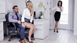 Manager have three-way intercourse anent workers