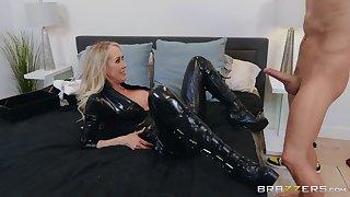 The black go underground makes Brandi Fancy hornier for her friend's dick