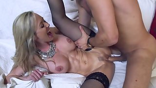 Mommy loves the step son's cock in her needy little cunt