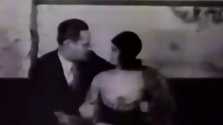 Filthy Boss Fucks His Secretary (1950s Vintage)