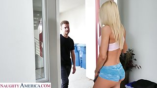 Dude can't resist shagging smoking hot brother's wife Riley Steele