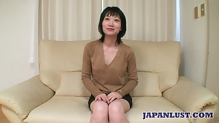 Asian milf Eri Kawasaki is fucked and creampied by queer dude with a make inaccessible dick