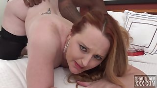 Mommy Getting Some Chopper - Interracial Sexual connection