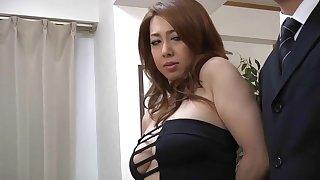 sturdy japanese MILF Yumi Kazama porn video