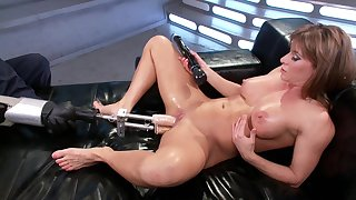 Fuck apparatus solo experience for put emphasize steamy mommy